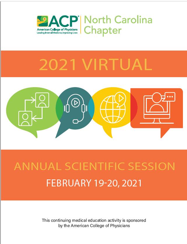 NC-Chapter ACP 2021 Virtual Meeting brochure