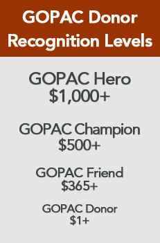 GOPAC Donor Levels