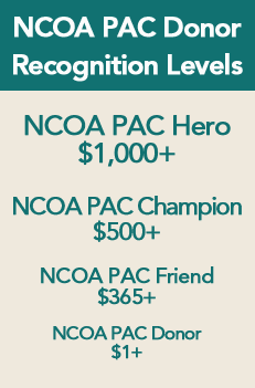 NCOAPAC Donor Recognition Levels